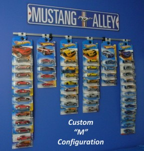 Collectible Hangers Diecast Display
