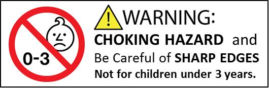 choking hazard signs for restaurants